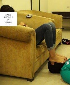 Human Foot Stool