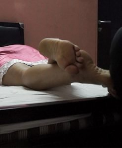 intimate foot worship