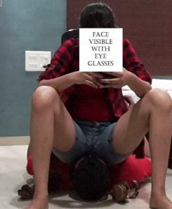 sitting on face